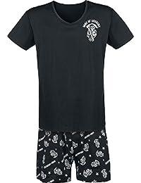 Sons Of Anarchy Stars & Stripes Pijama Negro