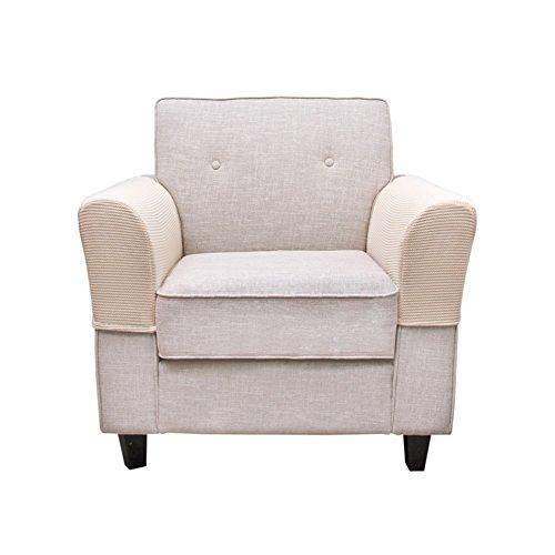 BETTERLE 2/Set Armlehne, Stretch Stoff Möbel Rutschfeste Armlehne Oder Stoff und Leder Liege Stuhl Sessel, Loveseats und Sofas Style01 (Leder Liege Stuhl Perfekte)
