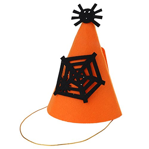 l Hut Partyhütchen Halloween Hut Kostüm Accessoires - Spinne ()