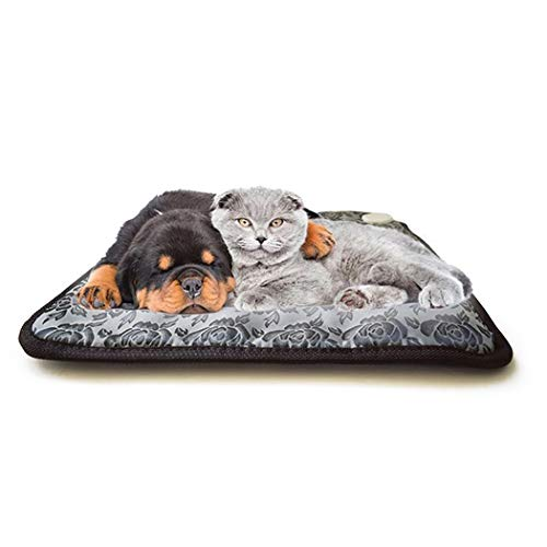 Legendog Haustier Heizung Pad Elektrische Blumenmuster Hund Erwärmung Bett Katze Bett Vorräte - Pet-erwärmung Pad