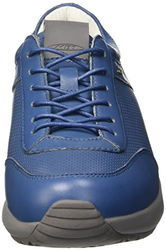 MBT Kioja 6 Lace Up, Pompes à Plateforme Plate Femme Bleu (China Blue)