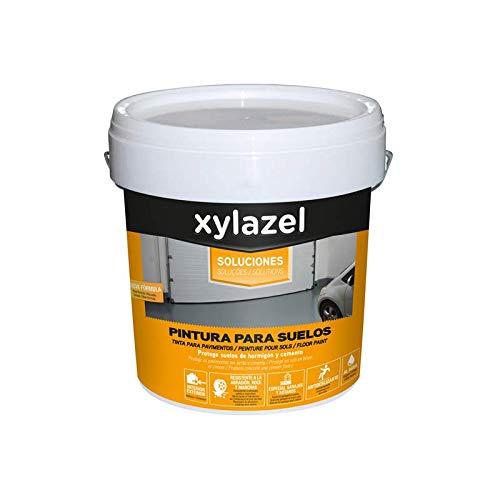 Xylazel - Pintura para suelos 4l gris