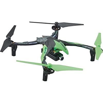 Dromida Ominus First-Person View (FPV) Unmanned Aerial Vehicle (UAV) Quadcopter Ready-to-Fly (RTF) Drone with Radio System, Batteries and USB Charger (Green) by Dromida