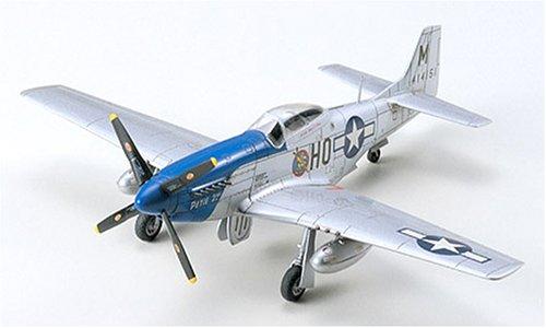 Tamiya - Maqueta Para Montar P-51D Mustang - North American E:1/72 (Tamiya 60749)