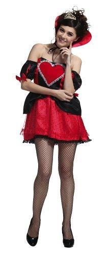 Queen Hearts Womens Of Kostüm - Heart Queen Girl Ladies (japan import)