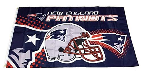 Patriots Deja New England Flagge Fahne NFL American Football 150x90 mit Ösen