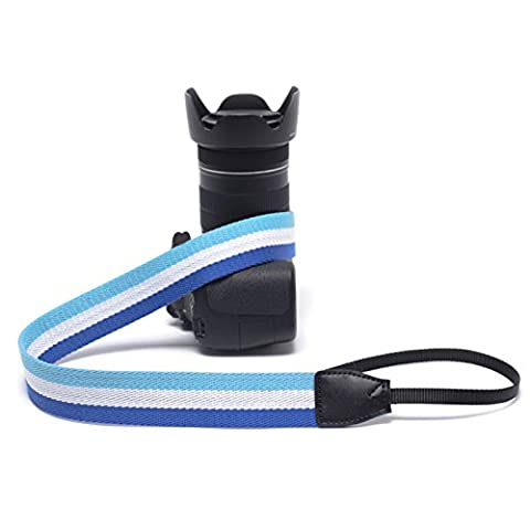 Zhhlinyuan Bonne qualité Vintage Classic World Cup Flag Belt SLR Camera Durable Weave Strap Micro Single Shot Shoulder Lanyard Gifts