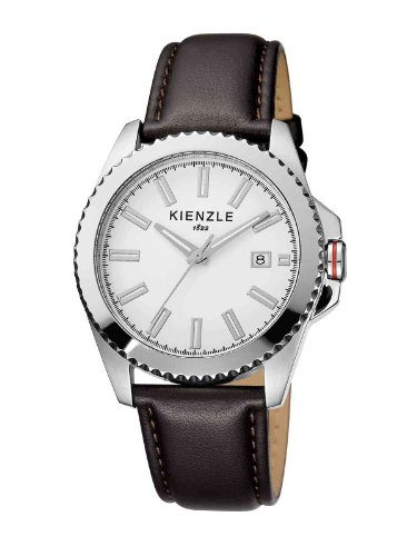 Kienzle Men's Quartz Watch K3061011021-00073 with Leather Strap