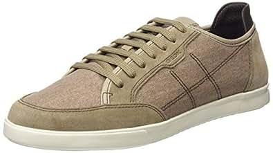 Geox U Walee A, Sneakers Basses Homme, Beige (Sand), 39 EU