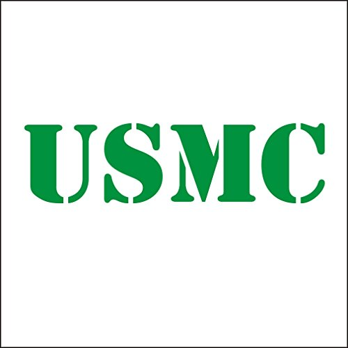 Dark Green-motorrad-helme (3141__DGRE Autoaufkleber USMC United States Marine Corps Vinyl Car Decal Decals Sticker Window Wall Truck ( Dark Green))