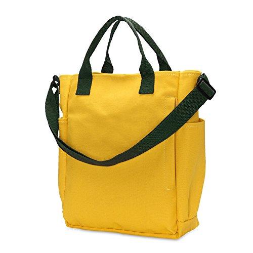 NUVOLA borsa a tracolla donna borsa a spalla grande forma giallo elegante  buon regalo san valentino e243113d95b