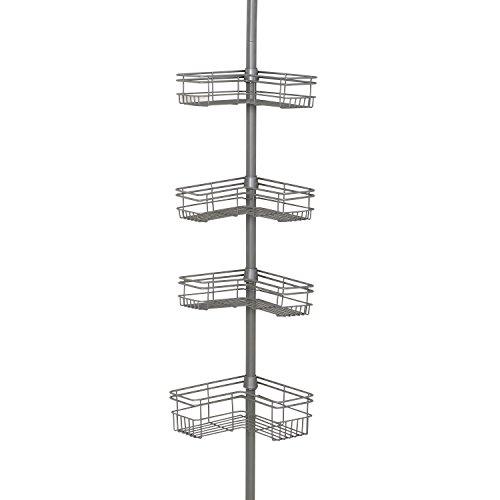 Tension Pole Caddy (Zenith Produkte Badewanne und Dusche Tension Pole Caddy, metall, nickel, CADDY)