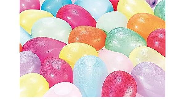 1.000 Wasserbomben in verschiedenen Farben Party-Set Wasser-Bomben Wasserballons