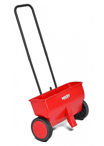 Price comparison product image Manual Seed Spreader on Wheels with Adjustable Regulator