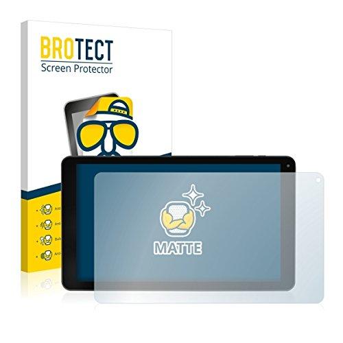 2X BROTECT Matt Bildschirmschutz Schutzfolie für Blaupunkt Atlantis 1001A (matt - entspiegelt, Kratzfest, schmutzabweisend)