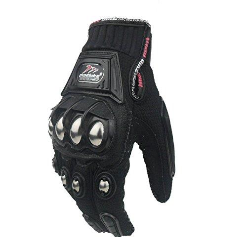 Rüstung Handschuhe (madbike Handschuh Motorrad Racing Motorrad Handschuhe Legierung Stahl Schutz)
