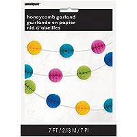 7ft Honeycomb Ball Garland