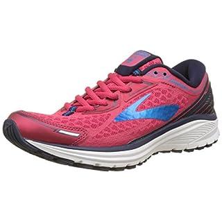 Brooks Women's Aduro 5 Running Shoes, Pink (Virtualpinkeveningbluehawaii 1b691), 7 UK