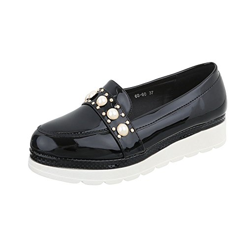 Ital 68 Mocassino Pantofola Slitta Pantofola 60 Nera design OxwYaxBq5