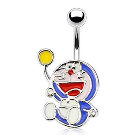 biwi-shop piercing nombril manga doraemon