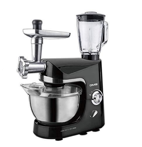 Küchenmaschine Standmixer Fleischwolf Rühr Maschine Gerät 1800 W max. Schwarz DMS®