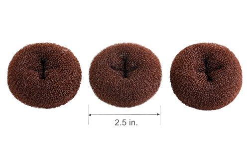 clothobeauty-3-pieces-extra-petite-taille-pour-enfants-enfants-cheveux-chignon-donut-maker-style-bag