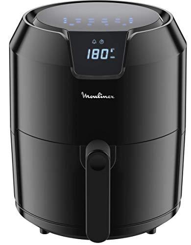 Moulinex EZ4018 Easy Fry Deluxe, Friggitrice ad Aria Senza Olio, 8 Modalità Preimpostate, Capacità XL fino a 6 Persone