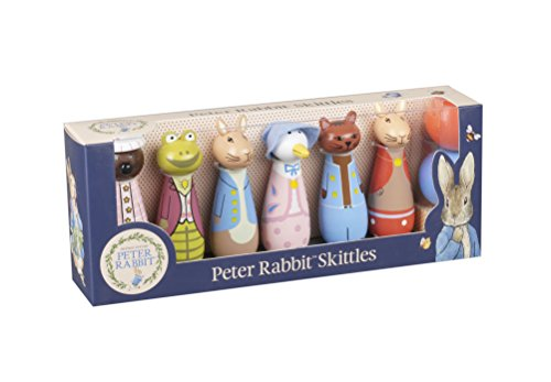 Beatrix Potter Rabbit Peter Rabbit & Friends Wooden Skittles
