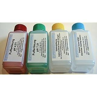 Kalibrier- und Pflegeset für pH-Elektroden mit pH 4,01 und 7,01 [Misc.]