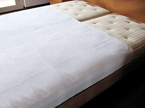 SALVA-MATERASSO-Letto-Matrimoniale-cm-140-x-230-Traversa-Assorbente-per-Incontinenza-in-Cotone-Spugna-e-PVC-Telo-Protettivo-Lavabile-per-Incontinenti-Protezione-per-Materasso