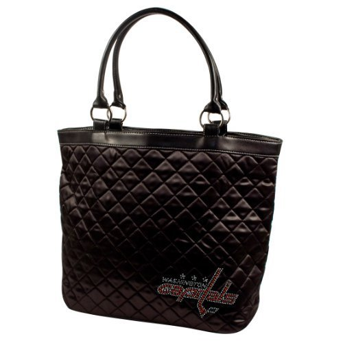 nhl-washington-capitals-sport-noir-quilted-tote-black-by-littlearth