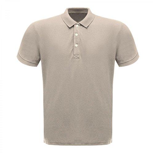 Regatta Klassik Herren 65/35 Kurzarm Polo Shirt Weiß