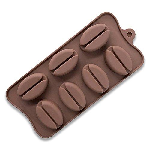 Deanyi Silikon-Formen-Kuchen-Formen für Backingx für Backingx für Backen-Form von Kaffeebohnen...