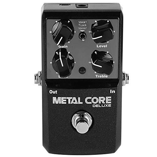 Core-2-extreme-spezifikationen (Huairdum Gitarrenpedal, Core Deluxe Extreme Metal Distortion Gitarreneffektpedal Verbesserte 2 Modi für Musikliebhaber)