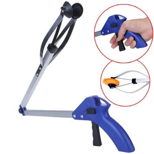 Yiwa Mehrzweck-Faltbarer Greifer Verlängern Erreichung Pick Up Greifer Werkzeug Aluminiumlegierung (Snap-on-Ösen)