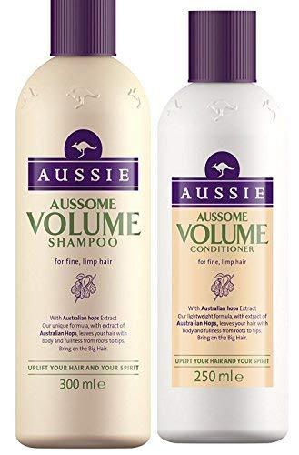 Aussie Aussome Volumen Duo champú 300ml + acondicionador