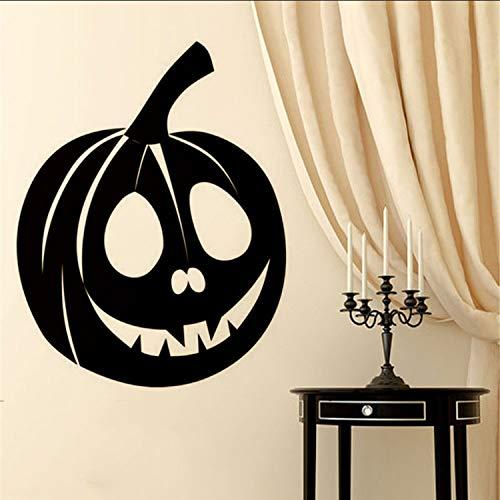 HOLnhyYY Tapete Kreative Pflanze Happy Halloween Hintergrund Wandaufkleber Fenster Home Decoration Aufkleber Dekor (Halloween-computer Hintergrund Happy)