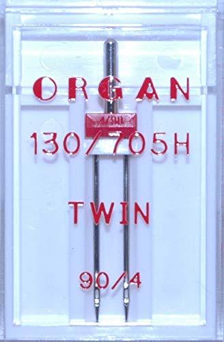 Organ 130/705H - Agujas máquina coser tamaño doble