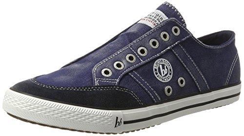 Bruno Banani 831 102, Sneakers basses homme Blau (Dk Denim)