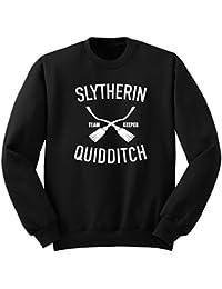 Slyther Sudadera/Harry Potter Quidditch Sweatshirt/Hogwarts Sudadera