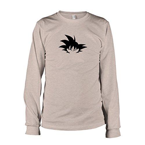 TEXLAB - DBZ: Hair - Langarm T-Shirt Graumeliert
