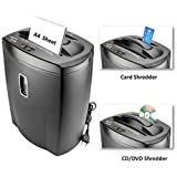 SToK Cross Cut Paper Shredder for A4 Size Sheets & CD/DVD/Credit Card