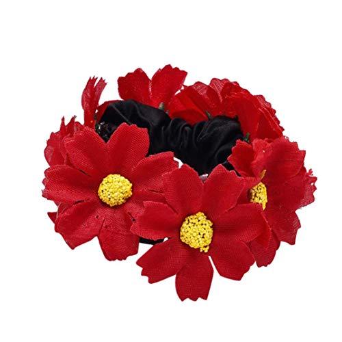 38eb5961ee70b2 Xmiral Damen Zubehör Stirnband Für Frauen Mode Blumen Haarband Elastische  Spandex Tuch Haarband.