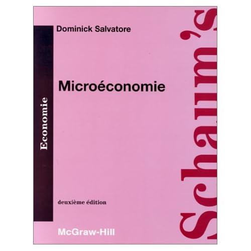 Microéconomie: Cours et problèmes
