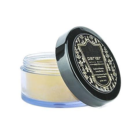 Parker Sandalwood & Shea Butter Luxury Travel Shave Soap Bar 50g