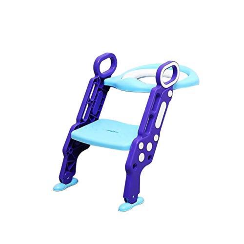 Toilettensitz Für Kinder, Chshe, Outdoor-Reise-Töpfchen Klappstuhl D 'Portable Toiletry Ring D' Baby Kids, Kunststoff Pueple -