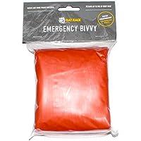 Rat Race Emergency Waterproof Orange Survival Bivvy Bag - Lightweight Thermal Foil Sleeping Blanket