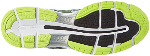 Asics Gel-Nimbus 19, Men's Running Shoes, Black (Black/Safety Yellow/Silver), 7 UK (41.5 EU)