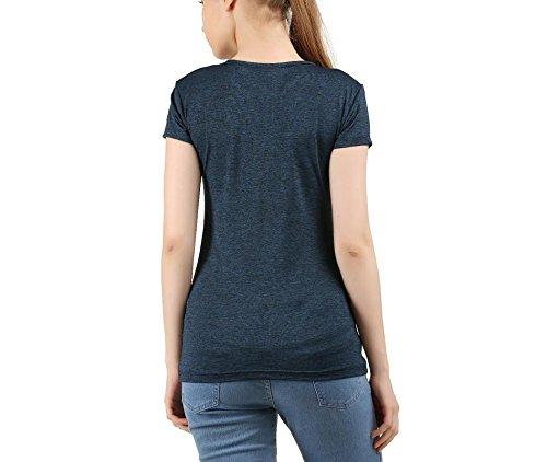 Clifton T-Shirt de Sport - Femme Bleu Marine