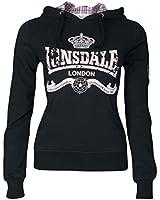Lonsdale Amber-Sweatshirt mit Kapuze Damen-Recht